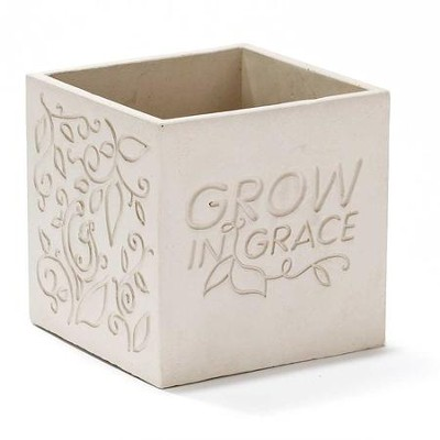 Eternal Garden Grow in Grace Planter  -