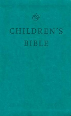 ESV Children's Bible (TruTone, Teal) Imitation Leather  -