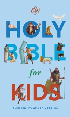 ESV Holy Bible for Kids, Softcover Economy Edition  -