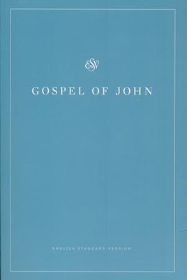 ESV Gospel of John (Softcover, Blue Cover)   -