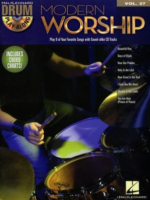 Modern Worship (Drums Play-Along Book/CD)   -