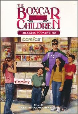 The Comic Book Mystery  -     By: Gertrude Chandler Warner