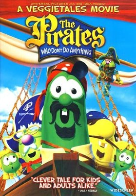 The Pirates Who Don't Do Anything: A VeggieTales Movie,  Widescreen Edition on DVD  -