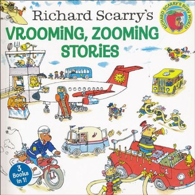Richard Scarry's Vrooming, Zooming Stories  -     By: Richard Scarry