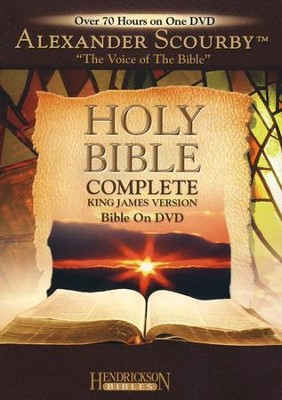 KJV Complete Bible on DVD   -     Narrated By: Alexander Scourby