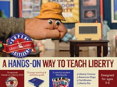 Super Citizen: A Hands-on Way to Teach Liberty--Curriculum Kit  -
