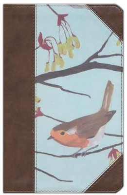 ESV Thinline Bible, Printed TruTone, English Robin Design  -