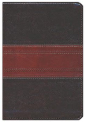ESV Personal Reference Bible, TruTone, Deep Brown/Tan, Trail Design  -