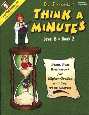 Think A Minutes, Level B Book 2   -     By: Homeschool