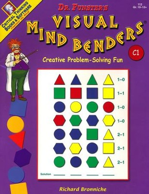 Funster Visual Mind Bend Level C1, Grades 10 to 12   -     By: Richard Bronniche