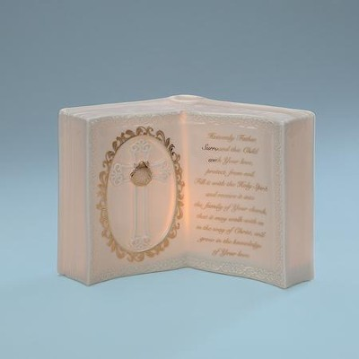 Baptism Book Style Photo Frame  -