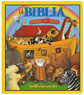 La Biblia Levanta la Tapita  (Lift the Flap Bible)  -     By: Sally Jones