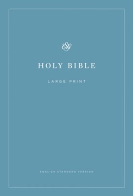 ESV Economy Bible, Large Print Softcover  -
