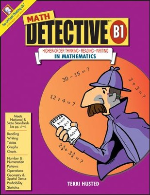 Math Detective B1, Grades 7-8   -     By: Terri Husted