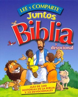 Lee y Comparte Juntos Biblia y Devocional  (Read and Share Bible and Devotional)   -     By: Gwen Ellis