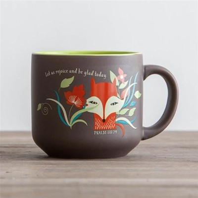 Let Us Rejoice, Fox Jumbo Mug  -