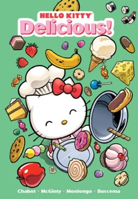 Hello Kitty: Delicious!  -     By: Jorge Monlongo     Illustrated By: Jorge Monlongo