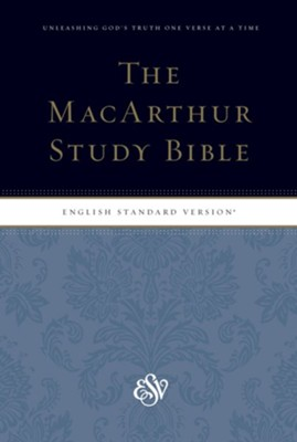 ESV MacArthur Study Bible, Personal Size Softcover  -