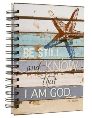 Be Still and Know, Spiral Bound Journal  -