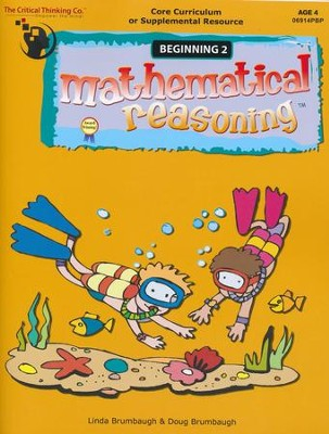 Mathematical Reasoning, Beginning 2, Age 4     -     By: Linda Brumbaugh, Doug Brumbaugh