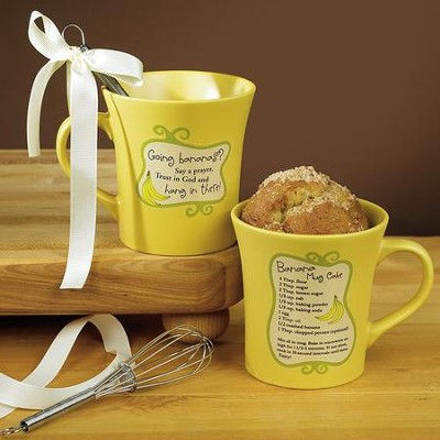Going Bananas, Hang In There Mug with Whisk  -