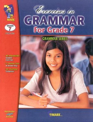 Exercises in Grammar Gr. 7  -