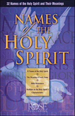 Names of the Holy Spirit - eBook Bundle   -