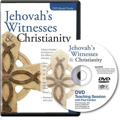 Jehovah's Witnesses and Christianity Video with Free Leader and Participant Guides  [Video Download] -     By: Rose Publishing