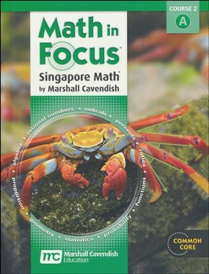 Math in Focus Grade 7 Student Edition Volume A   -