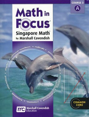 Math in Focus Grade 8 Student Edition Volume A   -