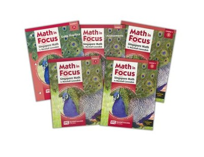 Math in Focus Grade 6 Student Pack (for extra students)     -