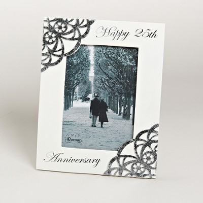 Happy 25th Anniversary Photo Frame  -