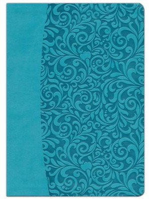 Everyday Life Bible: The Power Of God's Word For... (Turquoise Leatherette Binding)  -     By: Joyce Meyer