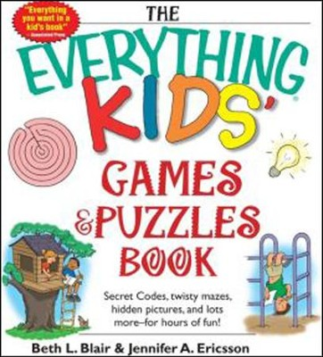 The Everything Kids Games Puzzles Book Beth L Blair Jennifer A