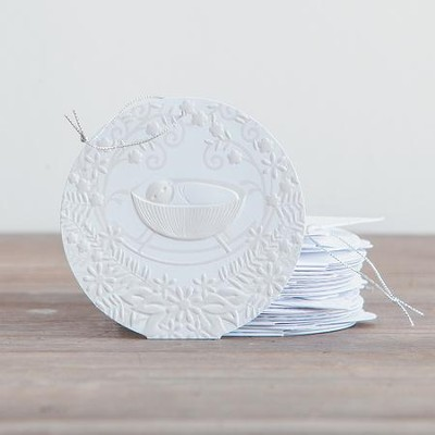 The Greatest Gift, Paper Ornament Set of 25  -     By: Ann Voskamp