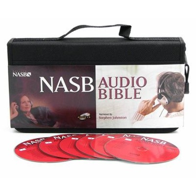 NASB Bible on CD, Voice Only--58 CDs  -     Narrated By: Stephen Johnston