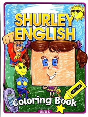 Shurley English Coloring Book Level K   -