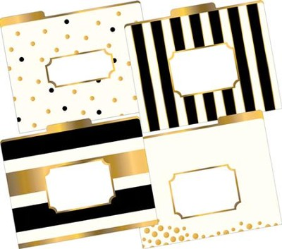 Gold File Folders (Pack of 12)   -