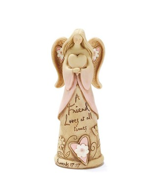 A Friend Loves at All Times, Angel Figurine  -