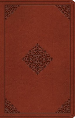 ESV Premium Gift Bible (TruTone, Tan, Ornament Design)  -