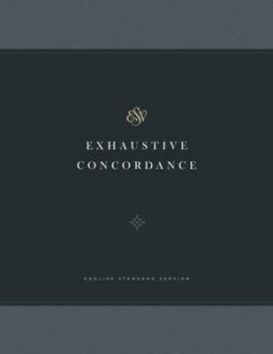 ESV Exhaustive Concordance -