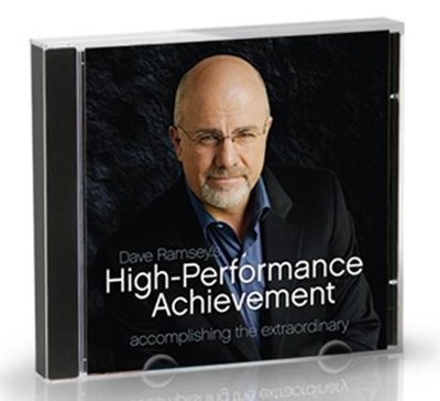 High Performance Achievement Audio CD   -     By: Dave Ramsey