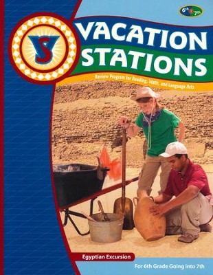 BJU Press Vacation Stations #7: Egyption Excursion (Updated Copyright)  -