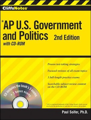 CliffsNotes AP U.S. Government and Politics with CDROM, 2nd Edition  -     By: Paul Soifer