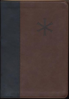 ESV Archaeology Study Bible (TruTone Imitation Leather, Black & Brown)  -