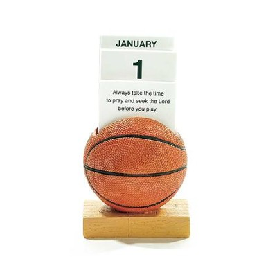 Basketball, Always Take the Time To Pray Perpetual Calendar  -