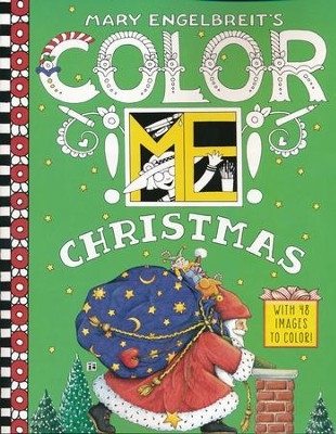 Mary Engelbreit's Color ME Christmas Coloring Book  -     By: Mary Engelbreit