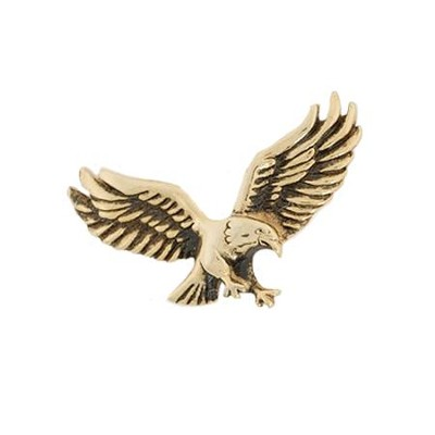 Eagle Lapel Pin, Gold  -