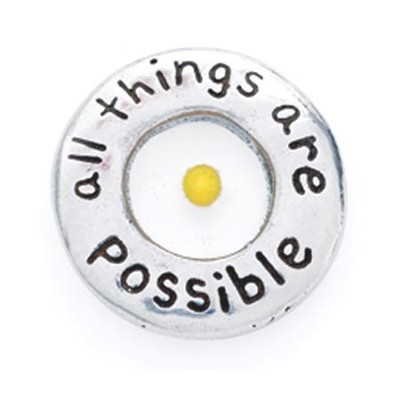 All Things Possible Lapel Pin  -