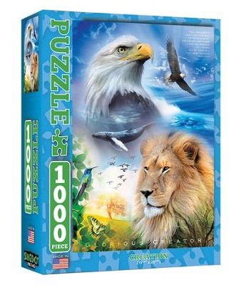 Creation 1000 Piece Jigsaw Puzzle   -